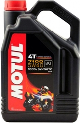 Моторное масло для мотоцикла Motul 7100 4T 5W-40 4L